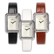 ファッションウォッチ レザーバンド クォーツ フェイクレザー 時計 腕時計