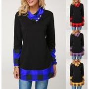 秋冬新商品730363 大きいサイズ 韓国 レディース ファッション  Tシャツ パーカー  3L 4L 5L 6L