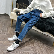 秋冬新作730373 大きいサイズ 韓国 レディース ファッション  ジーパン 3L 4L 5L