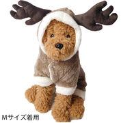 犬 服 犬服 犬の服 つなぎ ロンパース オーバーオール ドッグウェア 洋服 コスプレ クリスマス トナカイ