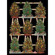 Ernst Freihoff スクラップシート <クリスマスツリー> *クロモス