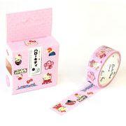 和雑貨 和小物 テープ 手帳 DIY 虹色 和風 ハローキティ 紙テープ