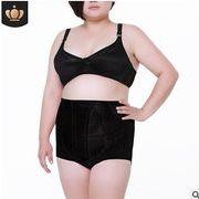 【大きいサイズXXL-5XLガードル ショーツ】ファッション/人気半ズボン♪ブラック/アンズ2色展開◆