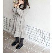 ★初秋新品★韓国風★キッズ服 ワンピース★可愛いキッズ服★