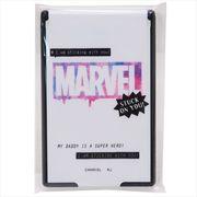 【手鏡】MARVEL コンパクトカードミラーS/グラデロゴ