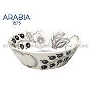 Y) 【アラビア】 1005400 食器 パラティッシ ボウル PARATIISI BOWL ブラック 17cm