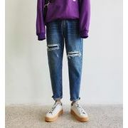 新作メンズジーンズ パンツ シンプル おしゃれ