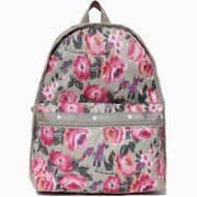 LeSportsac レスポートサック リュックサック Basic Backpack NIGHT BLOOMS
