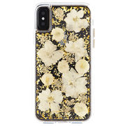 iPhoneXS/X Karat Petals - White  CM036254
