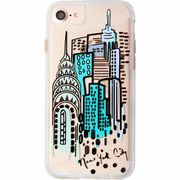 iPhone8/7/6s/6  Hybrid Naked Tough City Print NY City View ハイブリッド プリント ケース  CM035278