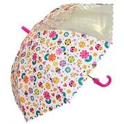 子どもが喜ぶキッズビニール傘 【スマイルフラワー】 子ども傘 50cm