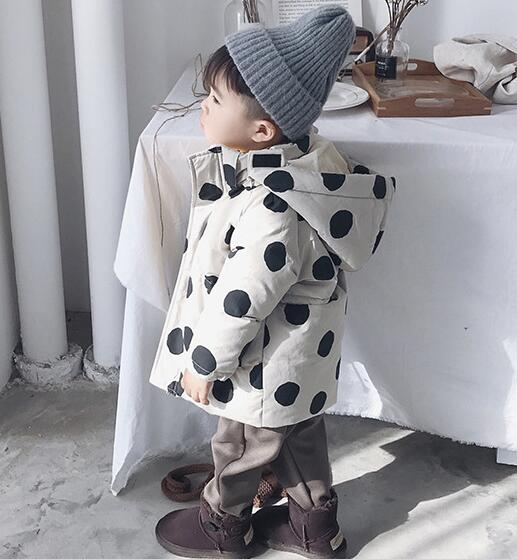 ★新品★キッズファッション★キッズ   水玉 コート