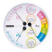 温湿度計熱中症注意 70505