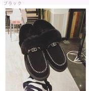 スノーブーツ 女 新しいデザイン 韓国風 スキッド 重底の雪のブーツ ファッション 暖か