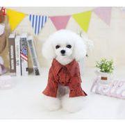 春夏新作 小中型犬服  超人気  超可愛い ペット服   落書シャツ  ペット雑貨  犬服 ペット用品 ネコ雑貨