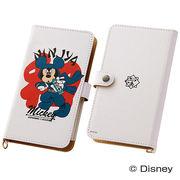 【Disney】スマホケースマルチタイプ 和スタイル ミッキーマウス