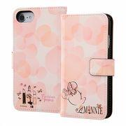 iPhone 8-7-6s-6 ディズニー 手帳型アート マグネット-ミニーマウス16