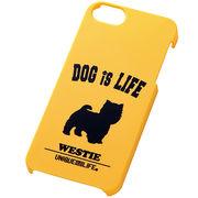 iPhone5/iPhone5sスマホケースハードケース ドッグシルエット ウエスティ
