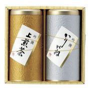 (食品)(お茶詰合せ)静岡銘茶 金銀 F-3014