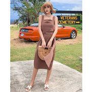 春に入る前の準備 期間限定大特価 韓国ファッション  新品  女性  ビーチスカート  セクシーなドレス