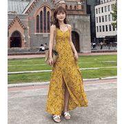【限定SALE】春 大人気 新作 新しい女性のセクシー 韓国ファッション セクシー  サスペンダードレス