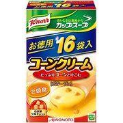 【ケース売り】クノール カップスープ(16袋入)コーンクリーム