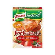【ケース売り】クノール カップスープ(3袋入)完熟トマトまるごと1個分使ったポタージュ