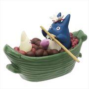 【フィギュア】となりのトトロ/プルバックコレクション/収穫の笹船