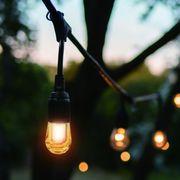 YAZAWA(ヤザワ)連結式LED装飾ランプコード 12灯 電球色相当 STRING12L