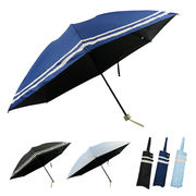 [55cm]日傘 折りたたみ傘 晴雨兼用 UVカット率/遮光率99%以上 婦人 レディース 二重ライン