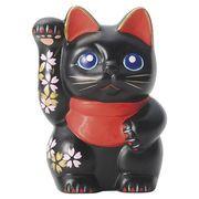 職人の手書きです。日本製。■【招き猫/インバウンド】さくら招き猫
