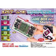 液晶ミニゲーム機 GAME-BOX neo Skeleton(スケルトン)