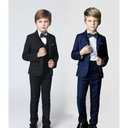 【NEW 人気★子供服 HOT!】スーツ/韓国子供服/男児タキシード/入園式/卒業式/フォーマルセット