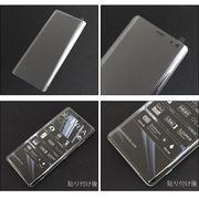 Xperia XZ3 SO-01L SOV39 801SO 全面保護ガラスフィルム シール 画面保護フィルム 強化ガラス