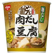 【ケース売り】日清麺なしどん兵衛 肉だし豆腐スープ