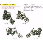 メタルクラフトバイク(カエル)