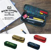 生活 雑貨 BOOK LOVERS ペンポーチ 2018SS
