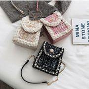 バッグ ミニ 携帯入れ オシャレ チェーン 新作 ショルダーバッグ 韓国ファッション