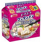 【ケース売り】(袋)ワンタンメン 関西だししょうゆ 5食パック