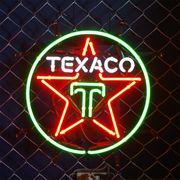 アメリカン雑貨 看板 ネオンサイン TEXACO テキサコ