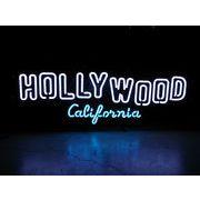 アメリカン雑貨 看板 ネオンサイン HOLLYWOOD ハリウッド