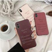 iphone11promax XsMAX X XR Xs 8plus 7 6s 6plus 英字 デザイン ケース