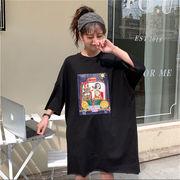 初回送料無料 2019イージー ゆったり Tシャツ 大人気 全2色 dyibh-1903az69春夏 新作
