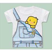 春夏新作 韓国子供服 キッズ 子供服 ベビー服 男女兼用 tシャツ 赤ちゃん服 半袖 上着