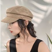 新品 レディース 夏 韓国 ベレー帽 UVカット ファッション ハット 麦わら帽子 日焼け止め