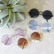 カラーラウンドサングラス 丸サングラス 眼鏡 メガネ UV アクセサリー リゾート プール