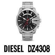 【まとめ割10%OFF】DIESEL ディーゼル 腕時計 DZ4308  メガチーフ クロノグラフ ステンレススチール
