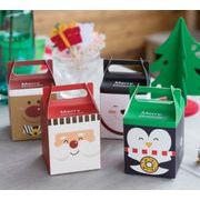 【雑貨】プレゼント クリスマスグッズ ボックス ラッピング クリスマスバッグ