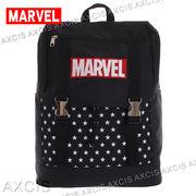 ポリMARVEL カブセリュック / 通勤 通学 大容量 マーベル ロゴ 刺しゅう メンズバッグ レディースバッグ