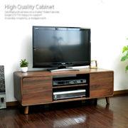 【6/中】テレビ台 ローボード 108cm幅 テレビラック AVボード 木製 LTV110-BR